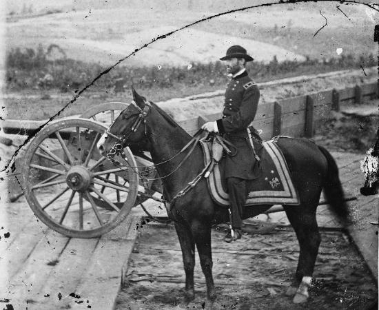 Sherman on Horseback