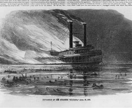 the sultana disaster american battlefield trust SS Sultana Pow List