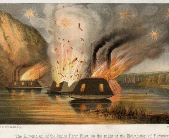 Trent's Reach Fleet Burned