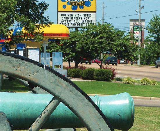 Tupelo Battlefield Encoachement