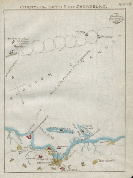 Battle of Cherbourg Chart