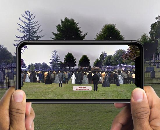 Gettysburg AR App