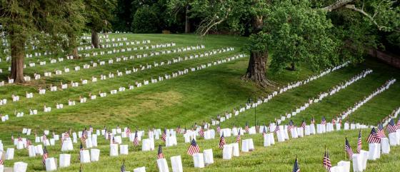Memorial Day Fredericksburg Home Hero