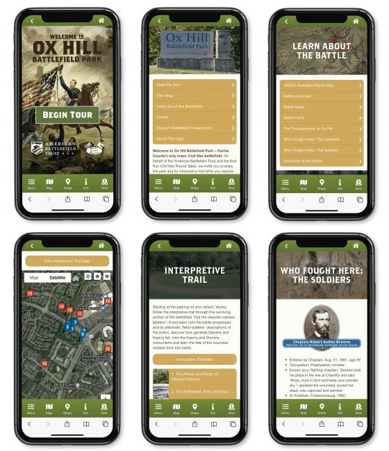 Ox Hil (Chantilly) App Preview