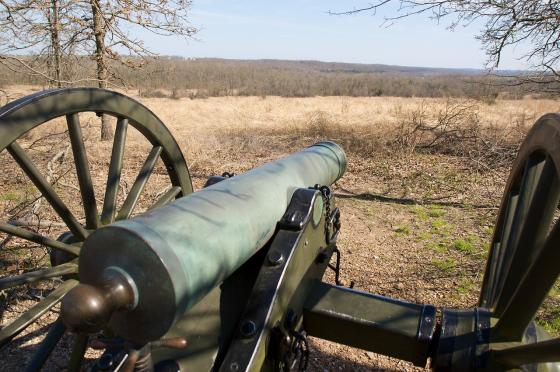 Cannons at Wilson's Creek