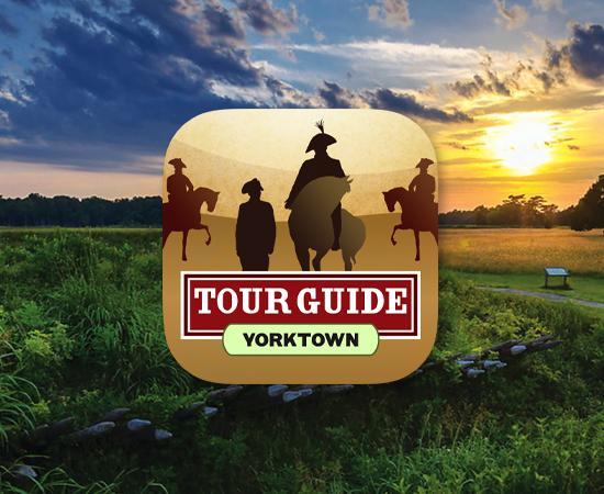 Yorktown Tour Guide App Icon Square