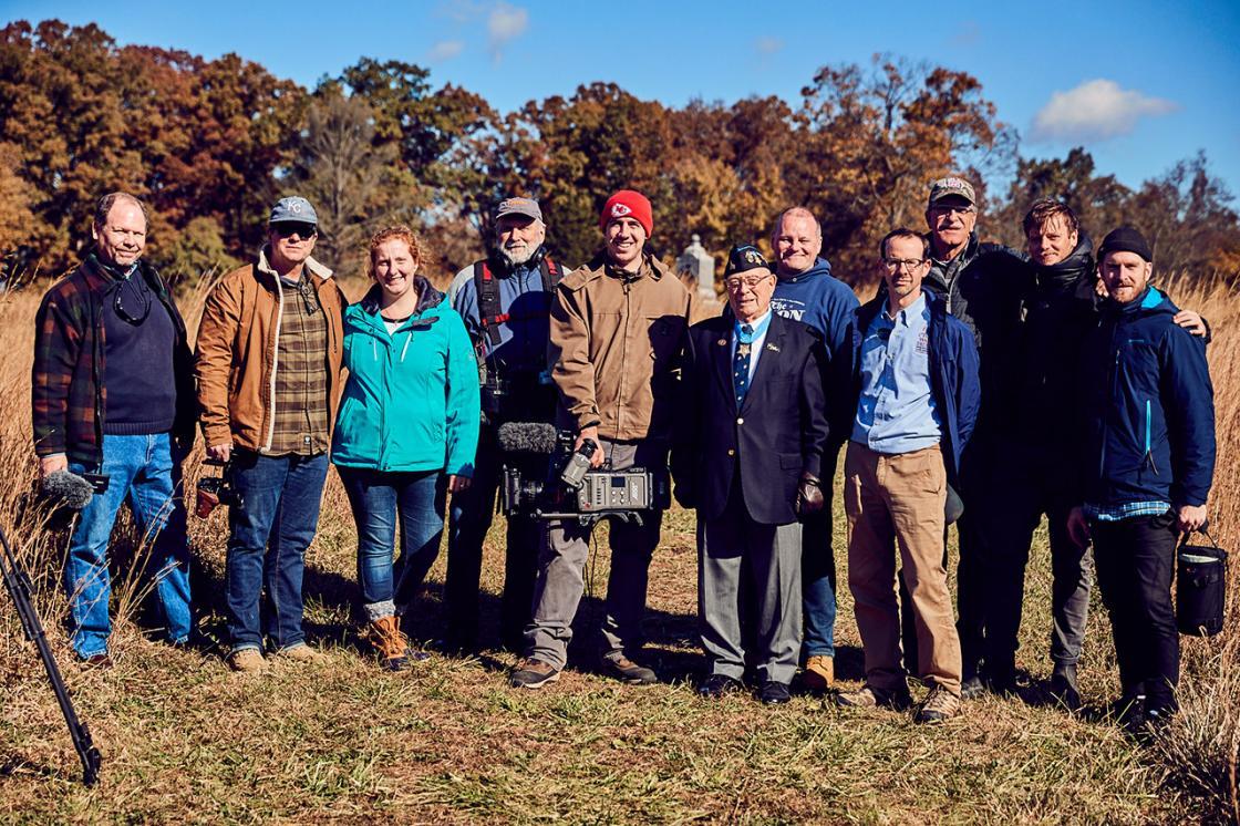 Gettysburg Location Crew