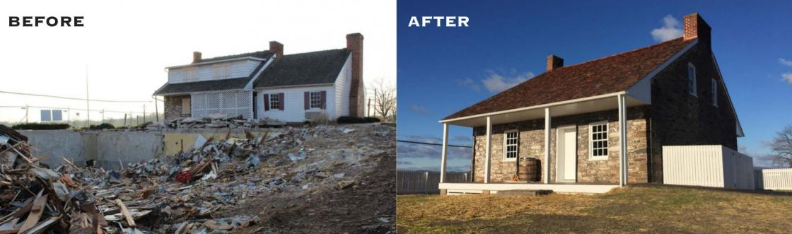Lee's Headquarters at Gettysburg: Before and After