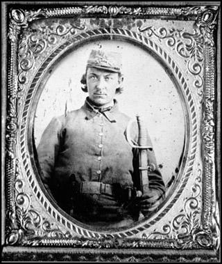 35th Virginia Battalion Cavalryman