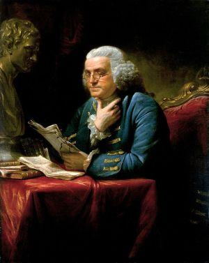 Ben Franklin Painting - Martin