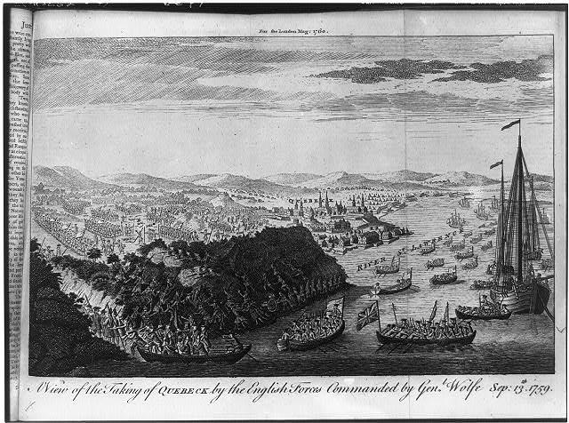 Engraving of a battle.