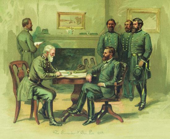 Appomattox Surrender Signing