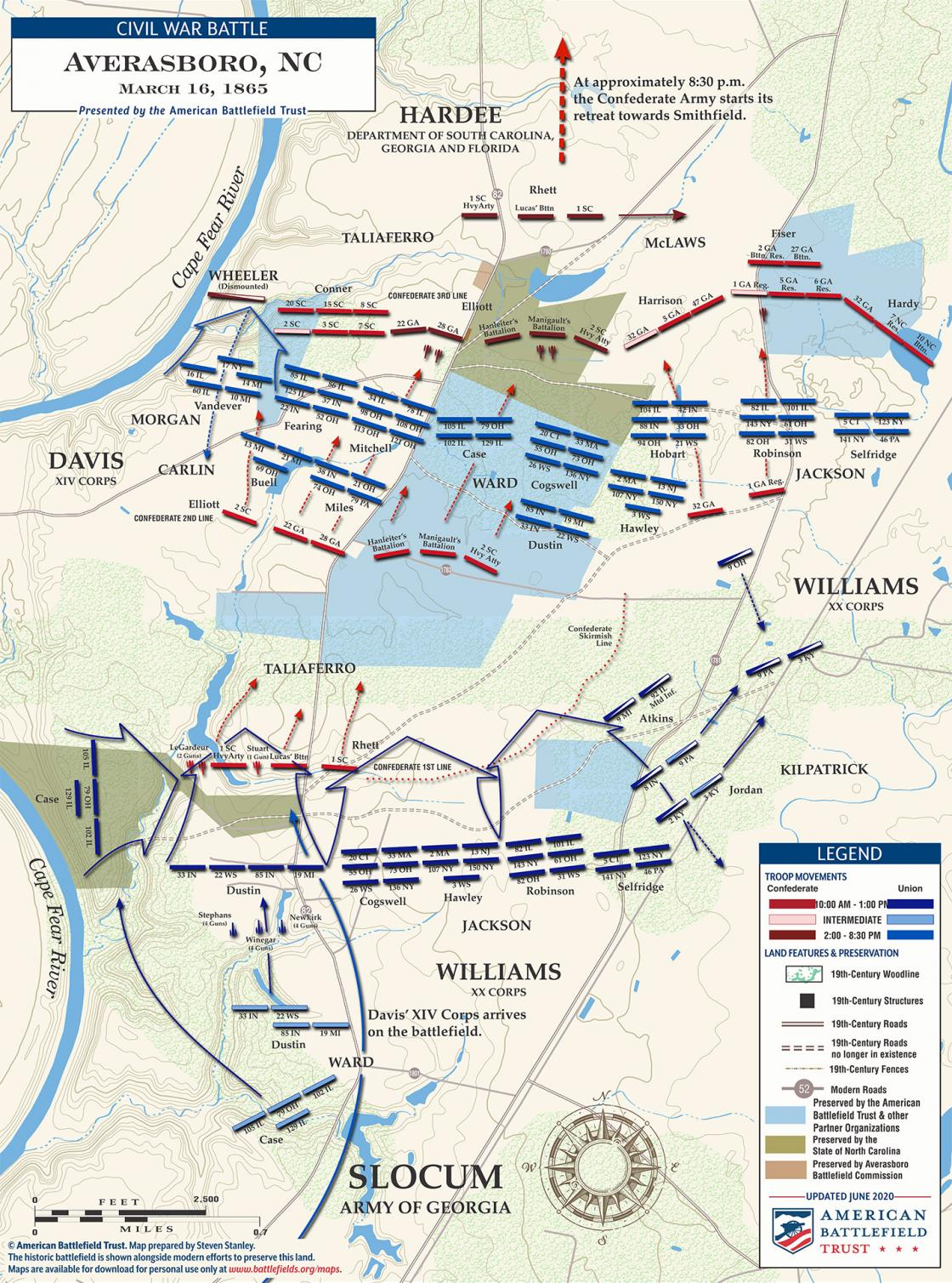 Averasboro - March 16, 1865 (June 2020)