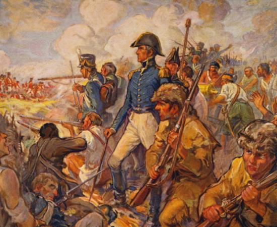 Battle of New Orleans Andrew Jackson