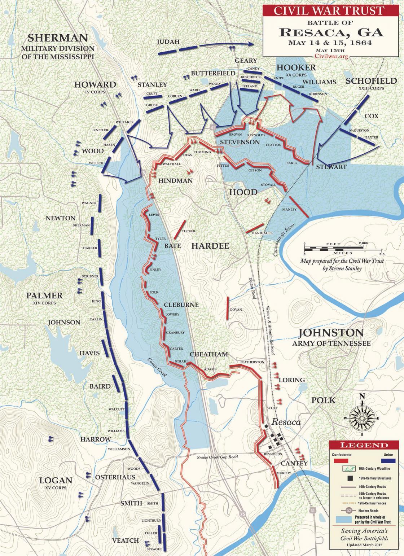 Battle of Resaca - May 15, 1864