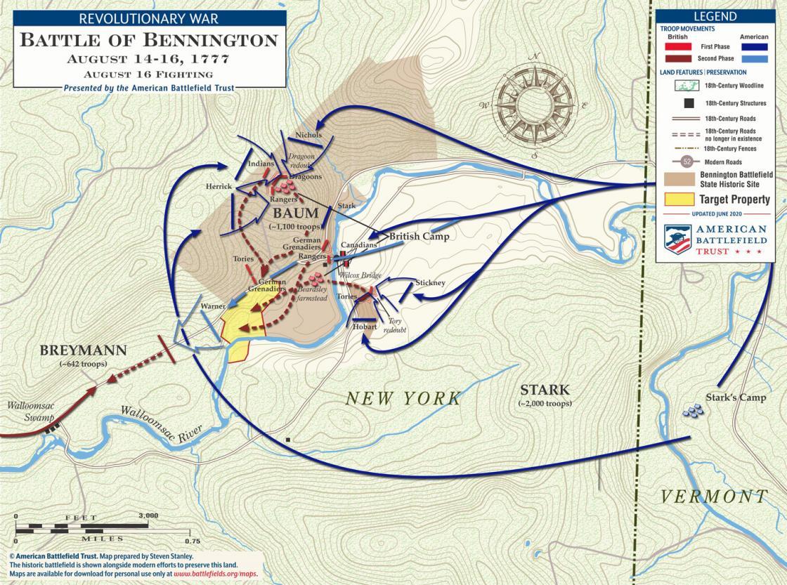 Bennington - August 16, 1777 (June 2020)