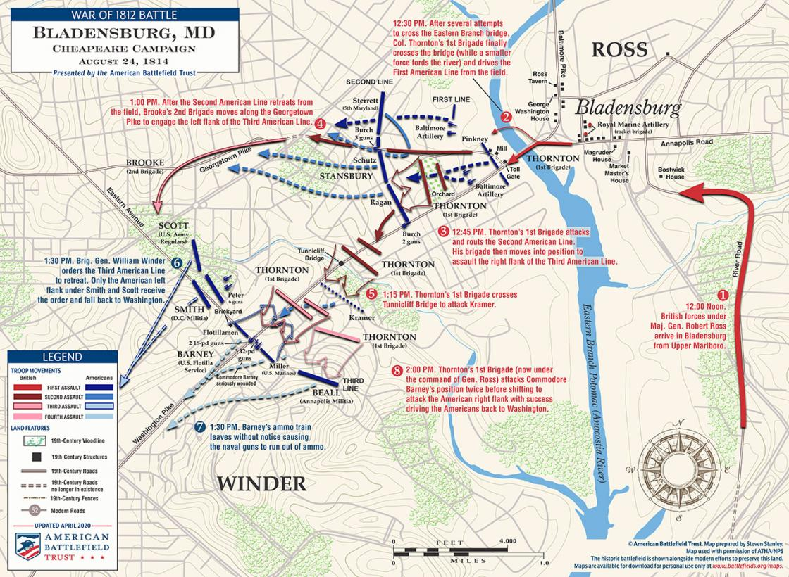 Bladensburg - August 24, 1814 (April 2020)