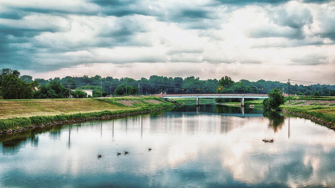 Bladensburg along the Anacostia River