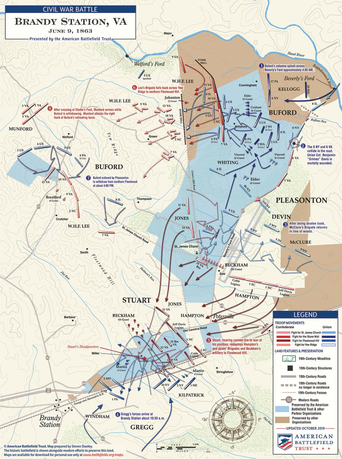 Brandy Station - June 9, 1863 (October 2019)
