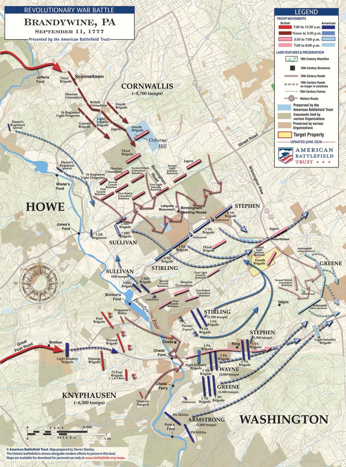 Brandywine - September 11, 1777 (June 2020)