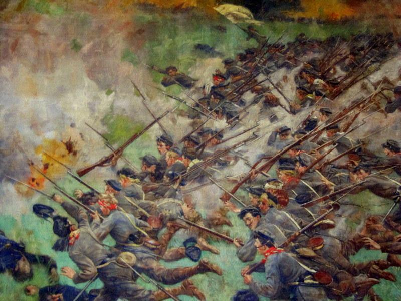 VMI cadets at Battle of New Market