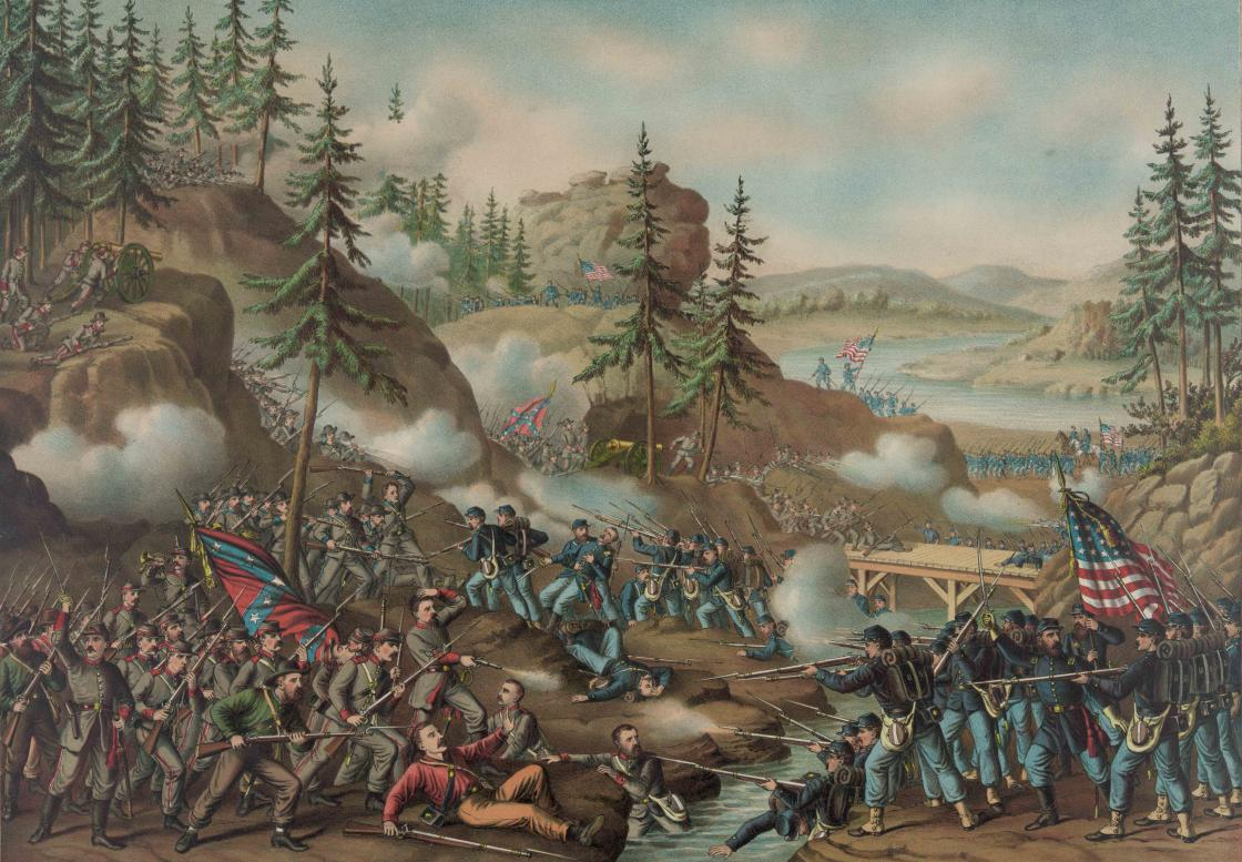 Thomas's Charge at Chattanooga