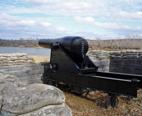 Columbiad at Fort Donelson Square