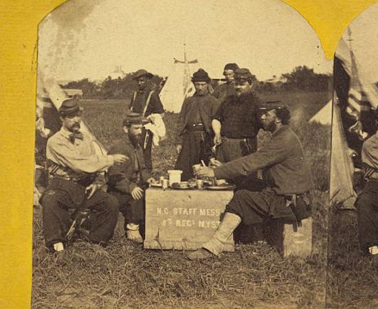 Confederate Meal Square