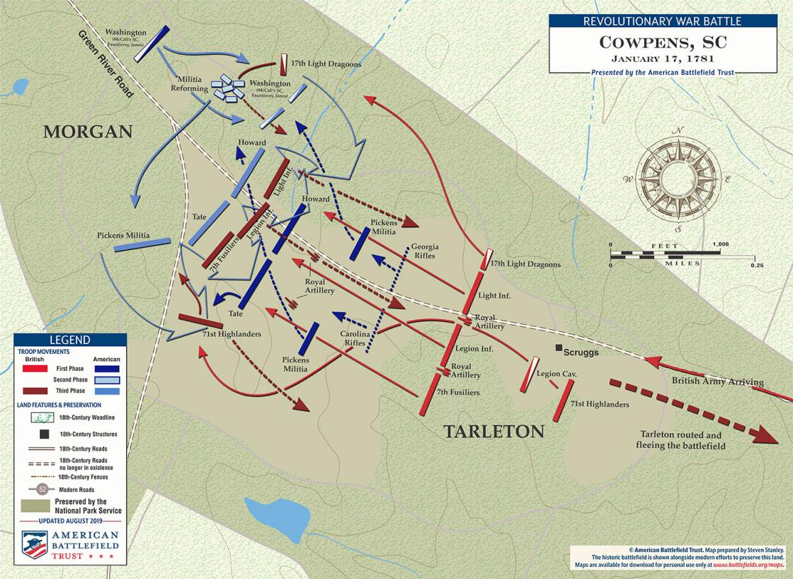 Cowpens - January 17, 1781 (August 2019)