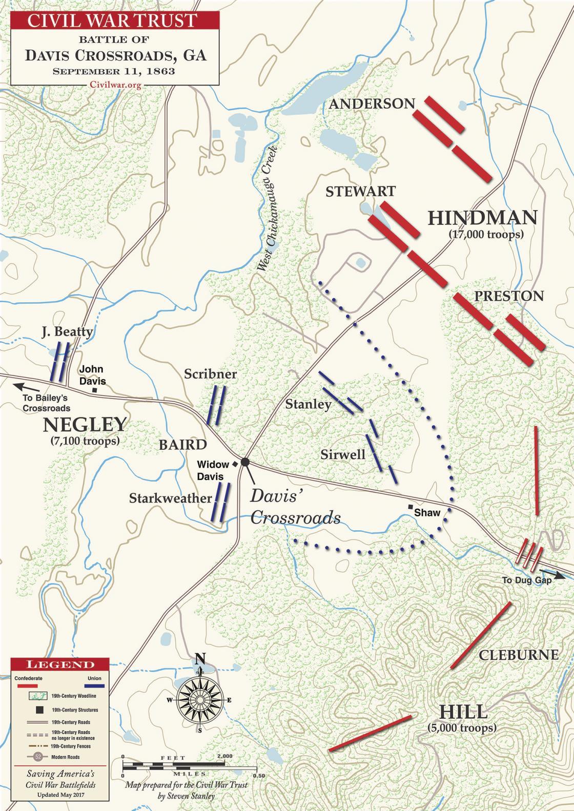 Davis Crossroads - September 11, 1863