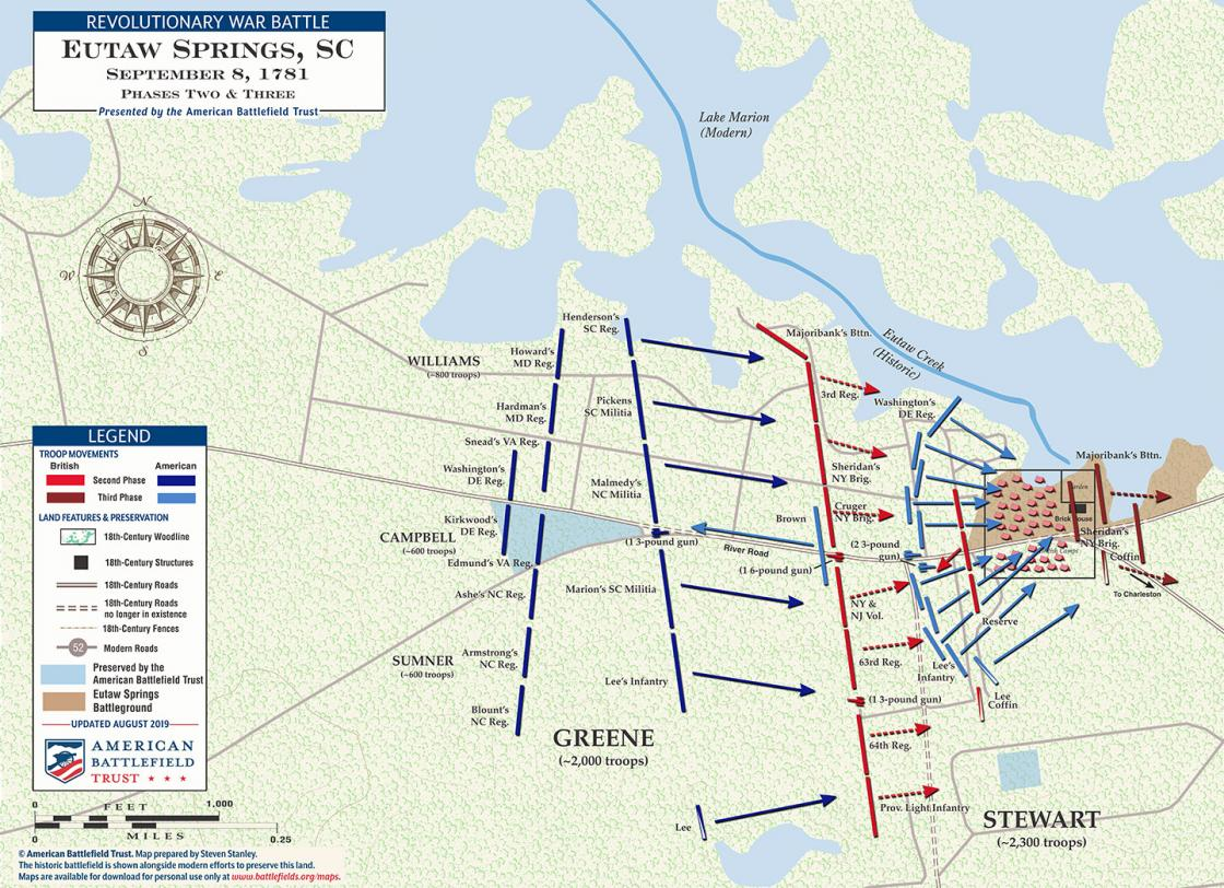 Eutaw Springs - September 8, 1781 - Phases Two & Three (August 2019)