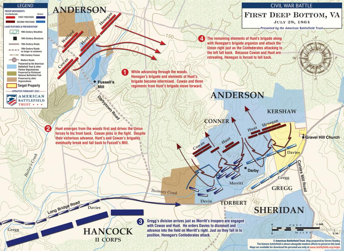 First Deep Bottom - July 28, 1864 (February 2021)
