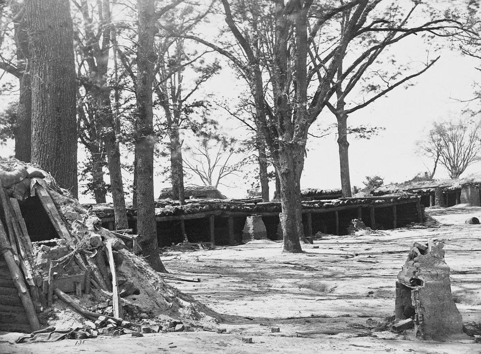Interior of Fort Stedman