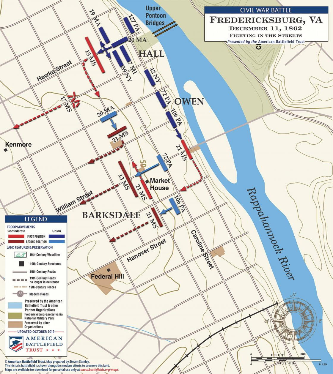 Fredericksburg - Fighting in the Streets - December 11, 1862 (June 2020)
