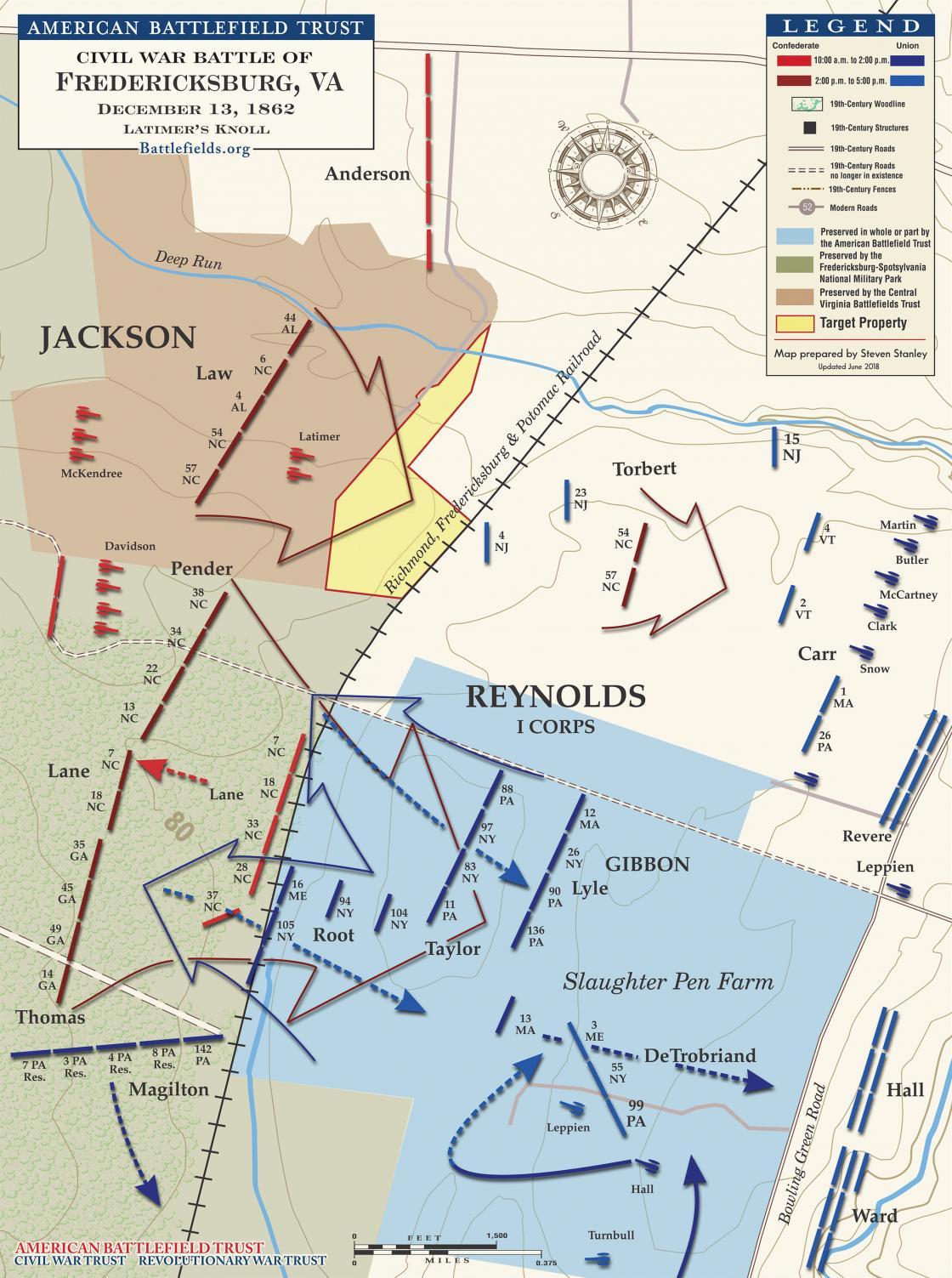 Fredericksburg - Latimers-Knoll - December-13-1862