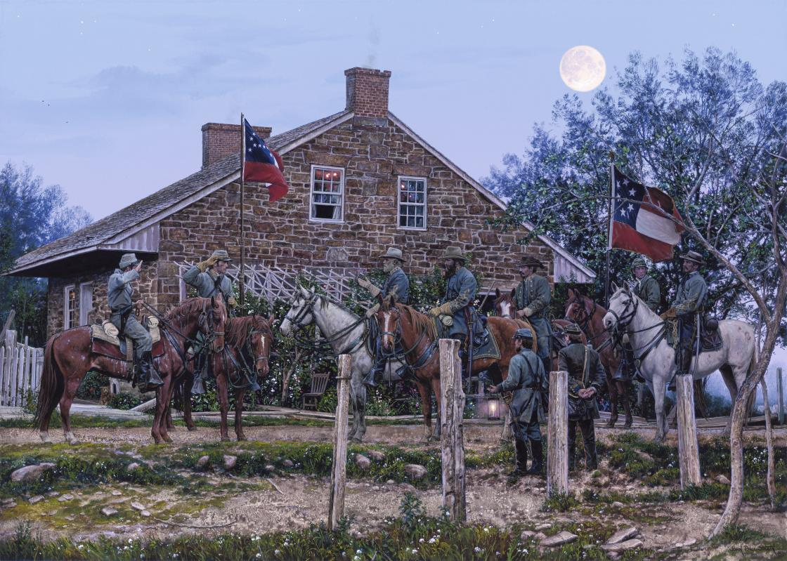 John Paul Strain Gettysburg headquarters