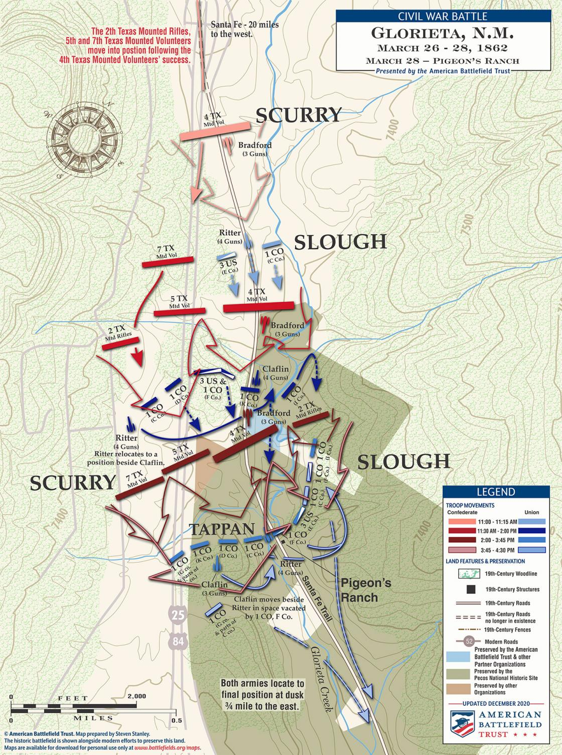 Glorieta Pass - The Fight for Pigeon's Ranch - March 28, 1862 (December 2020)