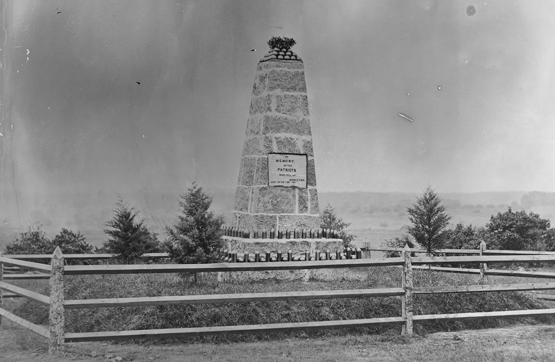 The Groveton Monument