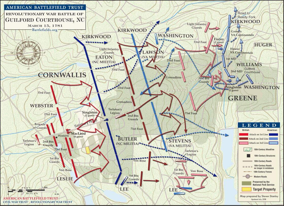 Guilford Courthouse - March 15, 1781