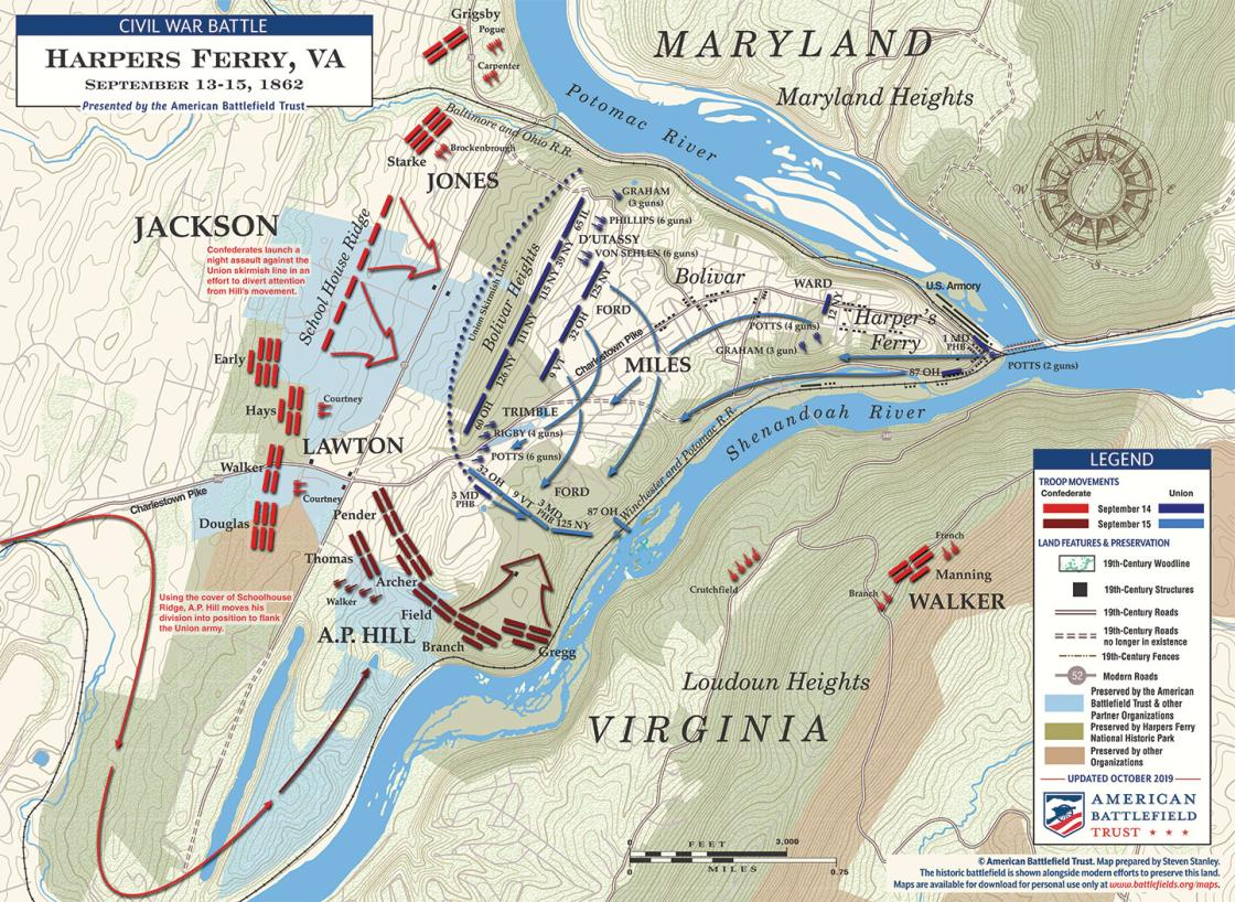 Harpers Ferry - September 13-15, 1862 (October 2019)