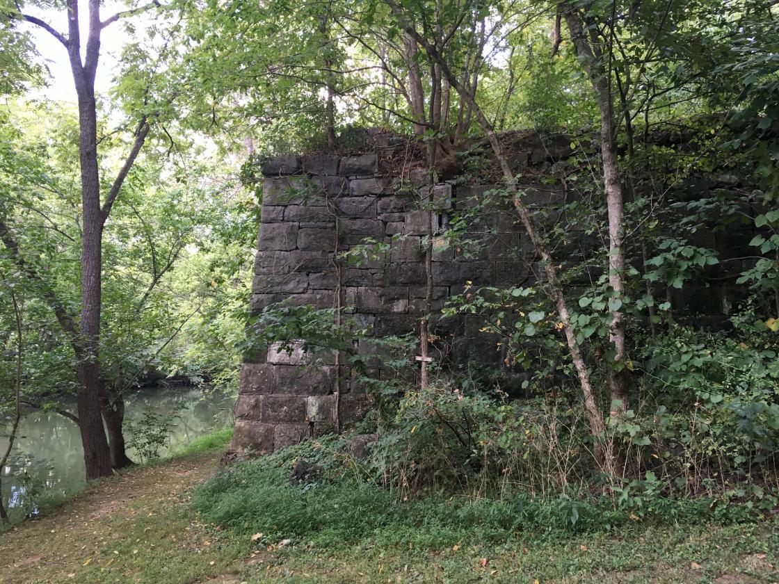 Historic Valley Pike Bridge Site at Cedar Creek