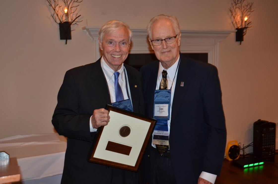 Virginia House Speaker Bill Howell and Jim Lighthizer