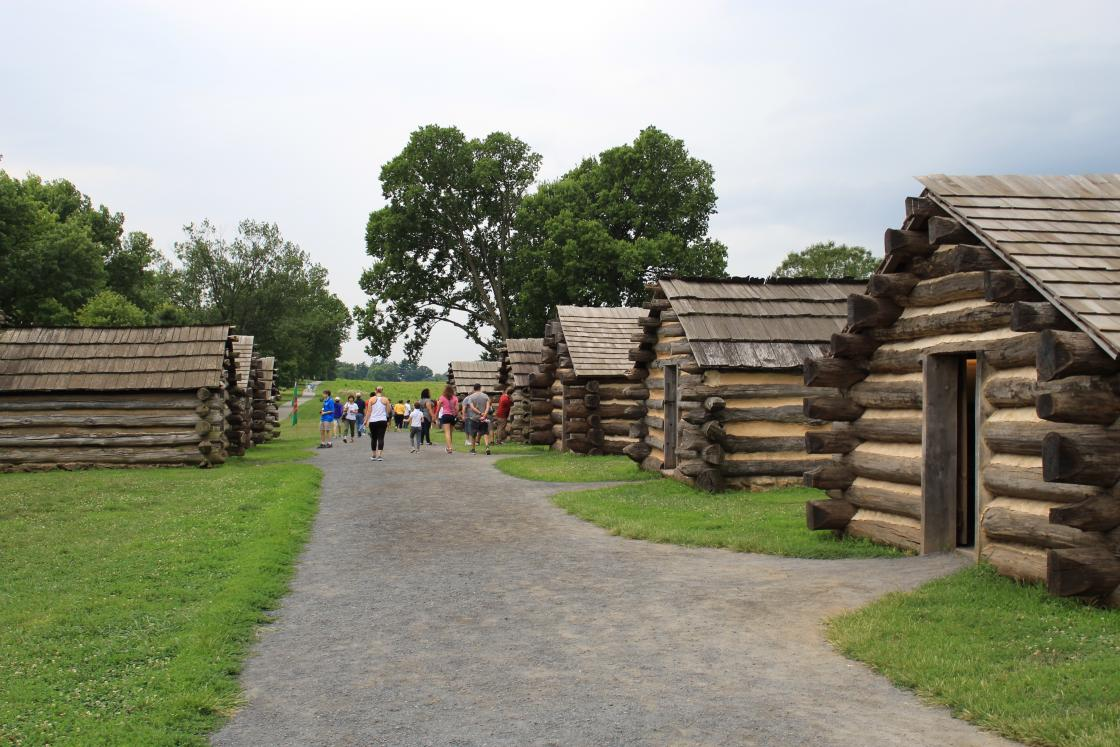 Muhlenburg Huts at Valley Forge