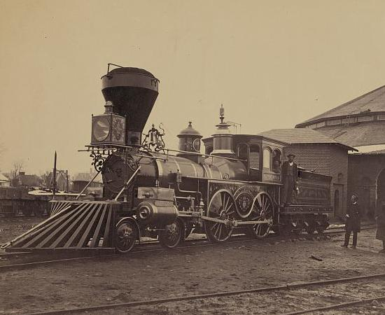J.H. Devereux Locomotive Square
