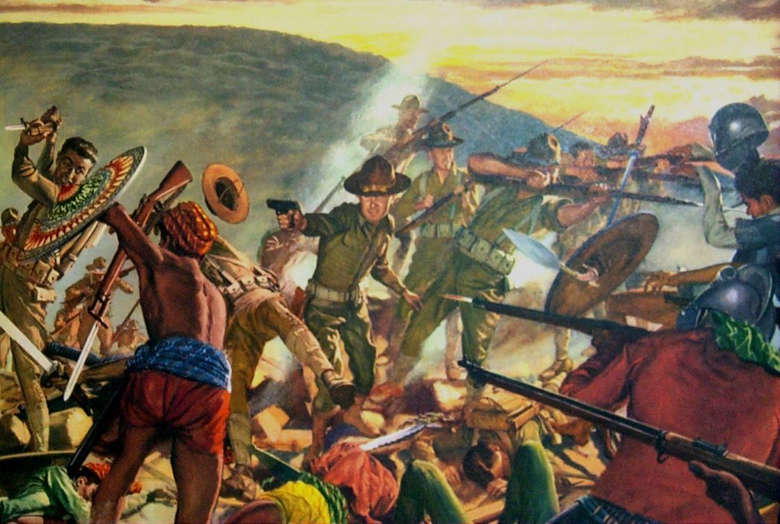 8th Infantry suppresses Moros