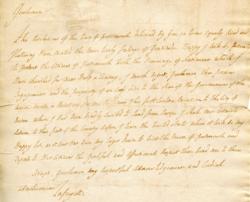 Letter from MdL to Portsmouth Committee 1824.png