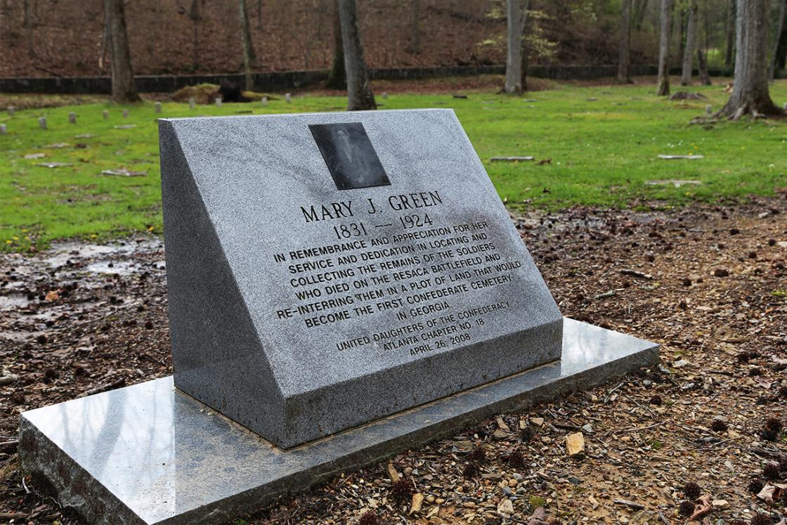 Mary Greene Monument