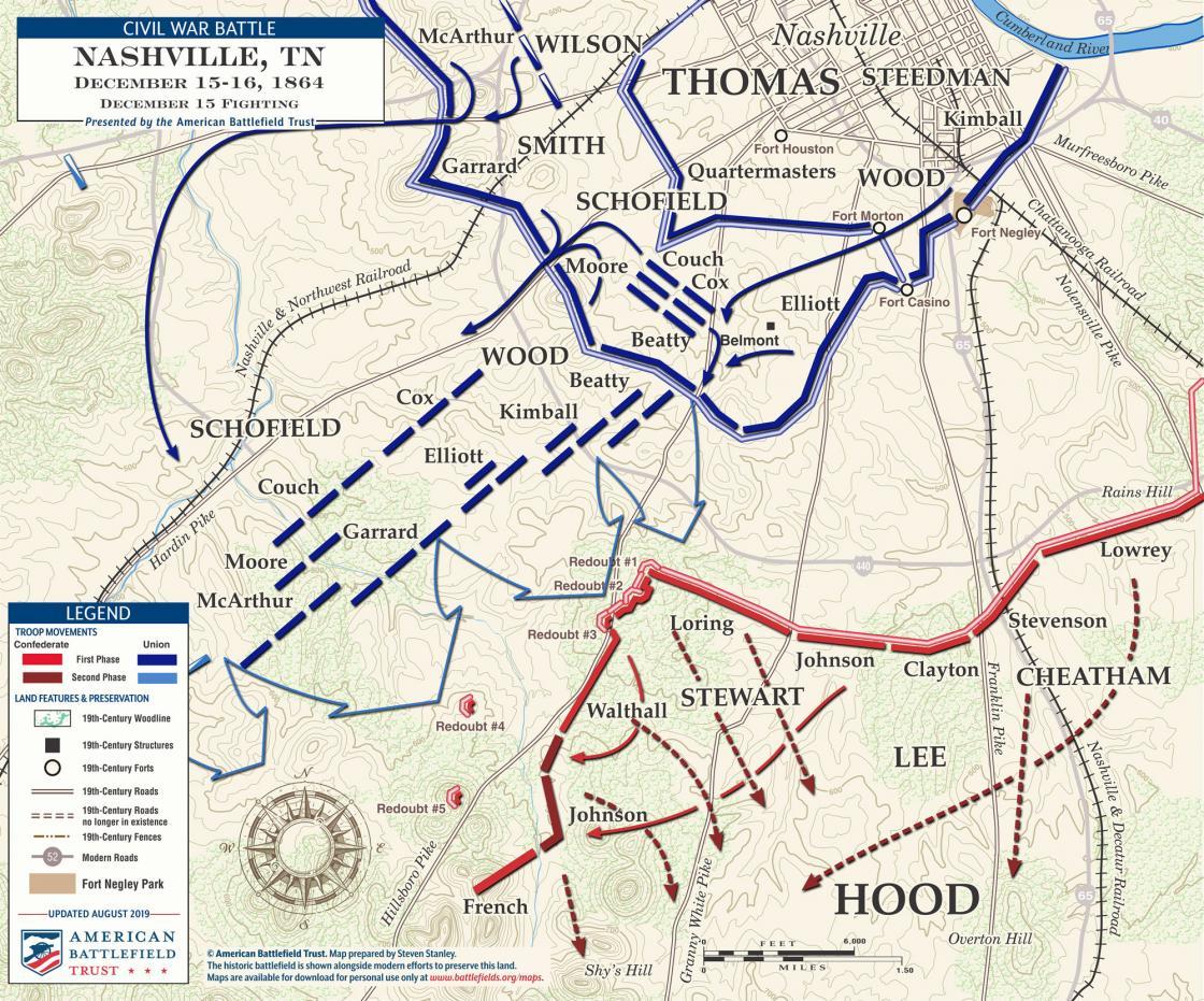 Battle of Nashville - December 15, 1864