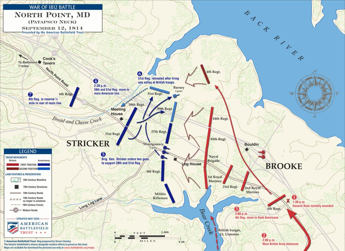 North Point - September 12, 1814 (May 2020)