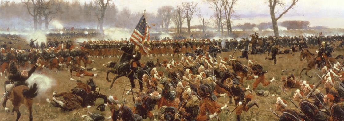 Fredericksburg - Slaughter Pen Painting